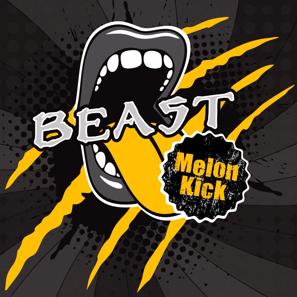 Příchuť Big Mouth Beast Melon Kick (Energetický nápoj s melounem)