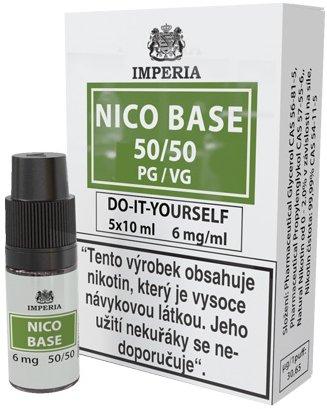 Nikotinová báze IMPERIA 5x10ml PG50/VG50 6mg