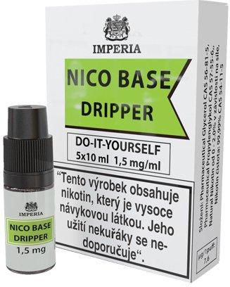 Nikotinová báze IMPERIA Dripper 5x10ml PG30/VG70 1,5mg