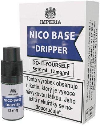 Nikotinová báze IMPERIA Dripper 5x10ml PG30/VG70 12mg