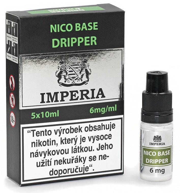 Nikotinová báze IMPERIA Dripper 5x10ml PG30/VG70 6mg
