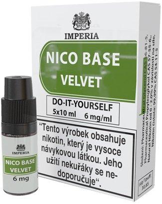 Nikotinová báze IMPERIA Velvet 5x10ml PG20/VG80 6mg