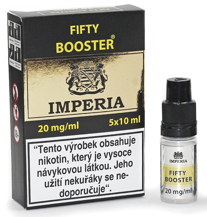 Fifty Booster IMPERIA 5x10ml PG50/VG50 20mg