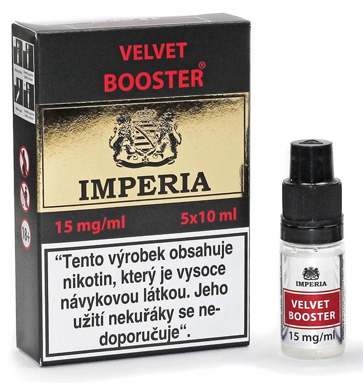 Velvet Booster IMPERIA 5x10ml PG20/VG80 15mg