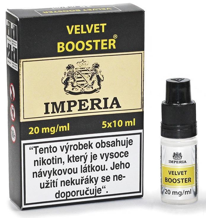 Velvet Booster IMPERIA 5x10ml PG20/VG80 20mg