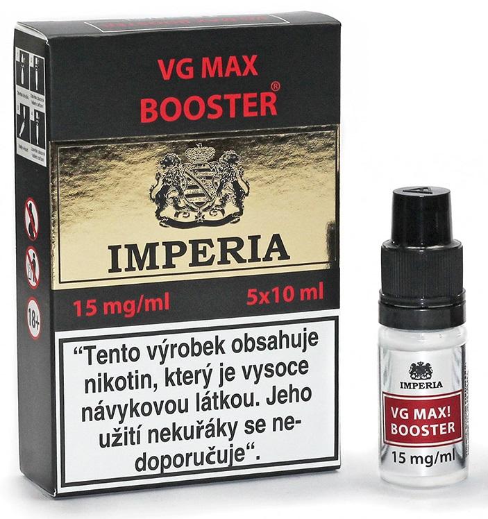 VG Max Booster IMPERIA 5x10ml VG100 15mg