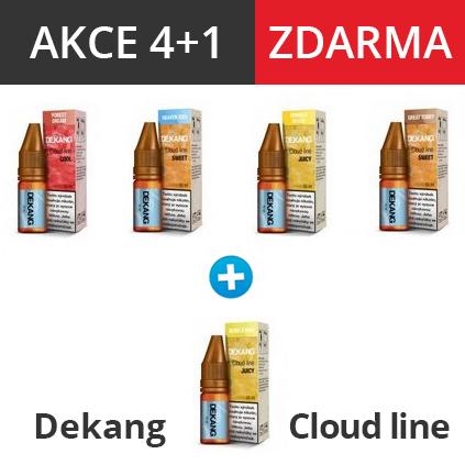 Dekang Cloud Line e-liquid 10ml (4+1 zdarma) 5ks