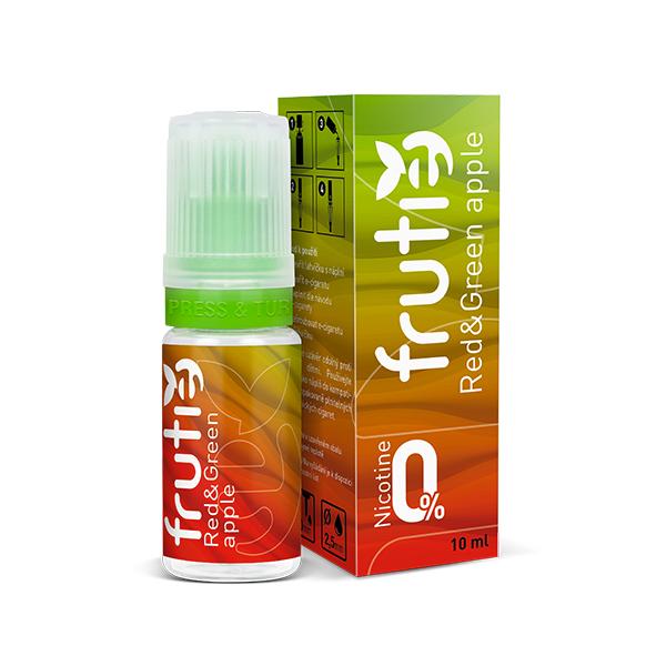 Frutie - Jablko (Red and Green Apple) 10ml Množství nikotinu: 0mg