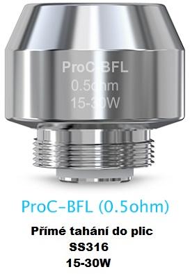 Žhavící hlava Joyetech ProC-BFL pro CuAIO/Cubis 2 0.5ohm 1ks