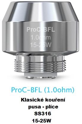 Žhavící hlava Joyetech ProC-BFL pro CuAIO/Cubis 2 1.0ohm 1ks