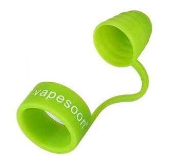 Ochranný silikonový kryt proti prachu - zelený