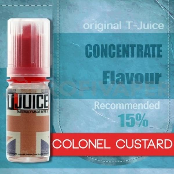 Colonel Custard - příchuť T-Juice 10ml