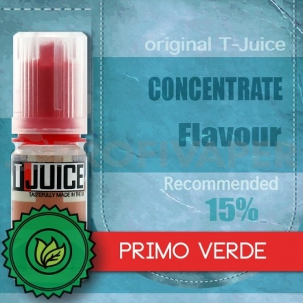 Primo Verde - příchuť T-Juice 10ml