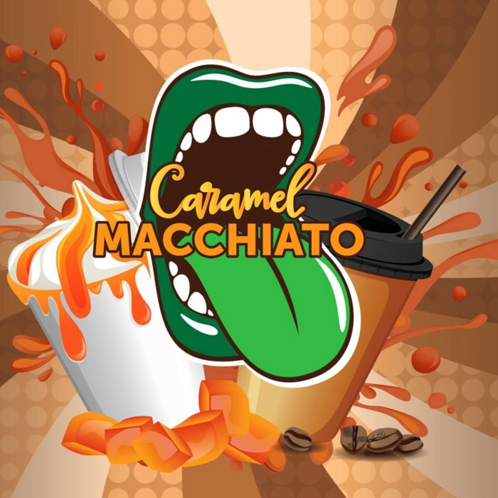 Příchuť Big Mouth Caramel Macchiato (Karamelové macchiato) 10ml