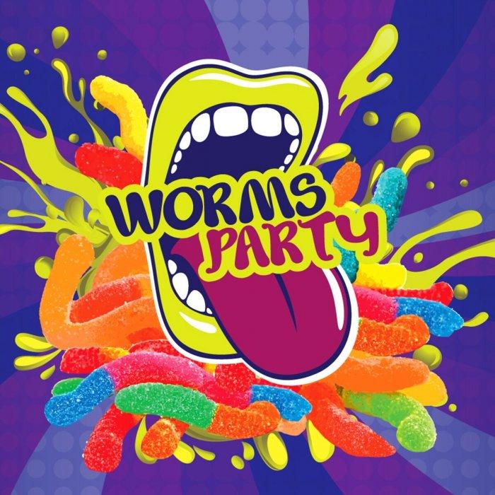 Příchuť Big Mouth Worms Party (Kyselé žížaly) 10ml