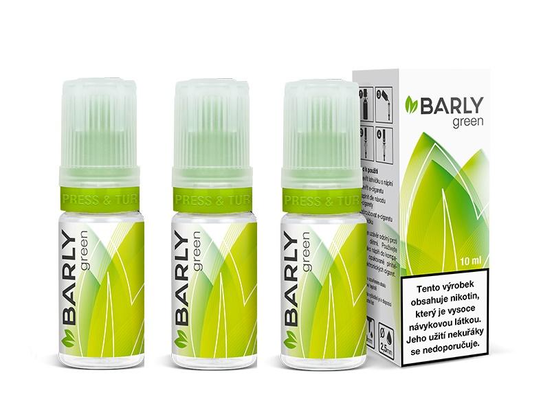 Barly GREEN 30ml Množství nikotinu: 5mg