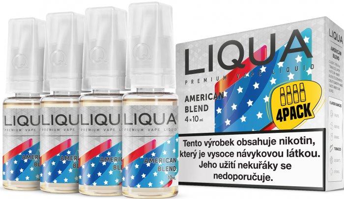 E-liquid LIQUA Elements American Blend 4Pack 4x10ml Množství nikotinu: 3mg