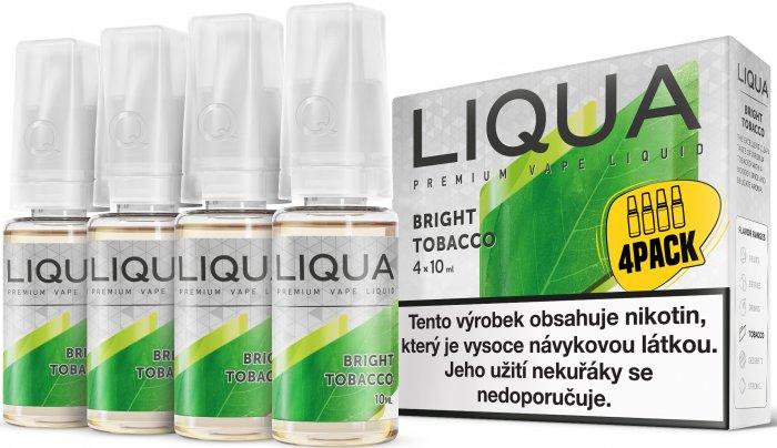 E-liquid LIQUA Elements Bright Tobacco 4Pack 4x10ml Množství nikotinu: 6mg