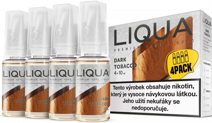 E-liquid LIQUA Elements Dark Tobacco 4Pack 4x10ml Množství nikotinu: 3mg