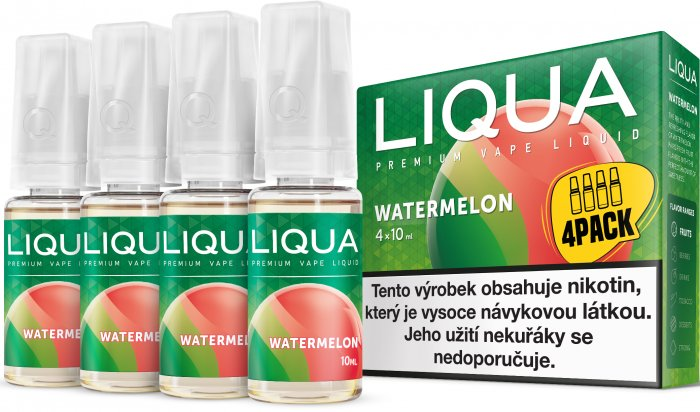 E-liquid LIQUA Elements Watermelon 4Pack 4x10ml Množství nikotinu: 3mg