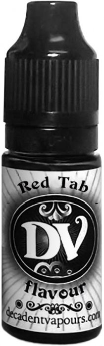 Příchuť Decadent Vapours Red Tab 10ml (Tabák s vanilkou)