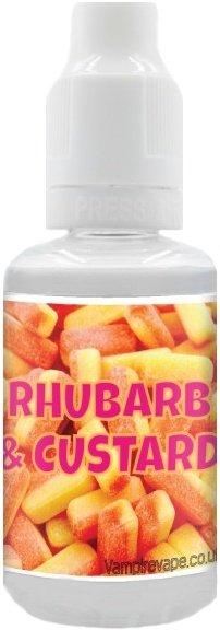 Příchuť Vampire Vape Rhubarb and Custard 30ml