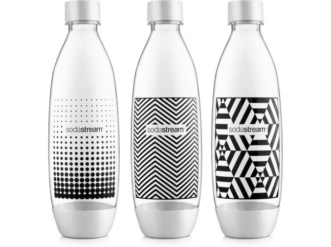Lahev SodaStream Fuse Black&White TriPack