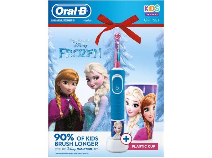 Oral-B Vitality D100 FROZEN + hrníček
