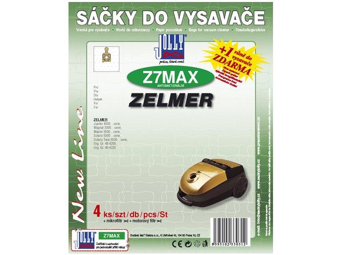Sáčky do vysavače Jolly MAX Z 7 (4ks) do vysav. ZELMER
