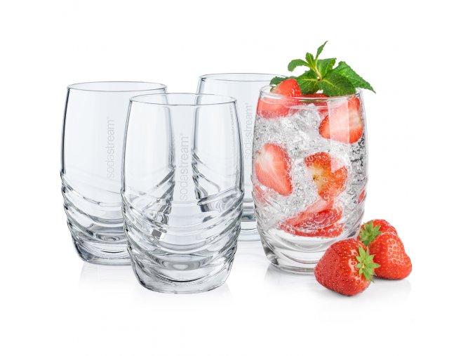 SodaStream sklenice 4ks