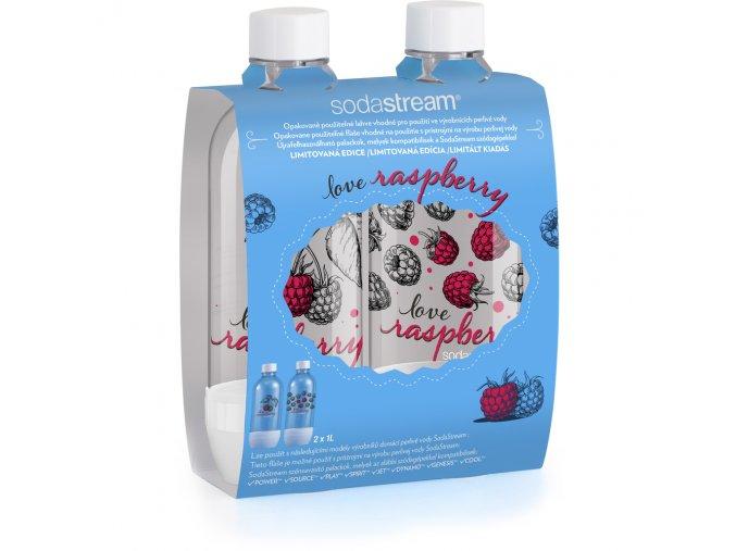 LAHEV Sodastream JET LOVE RASPBERRY 2x1L