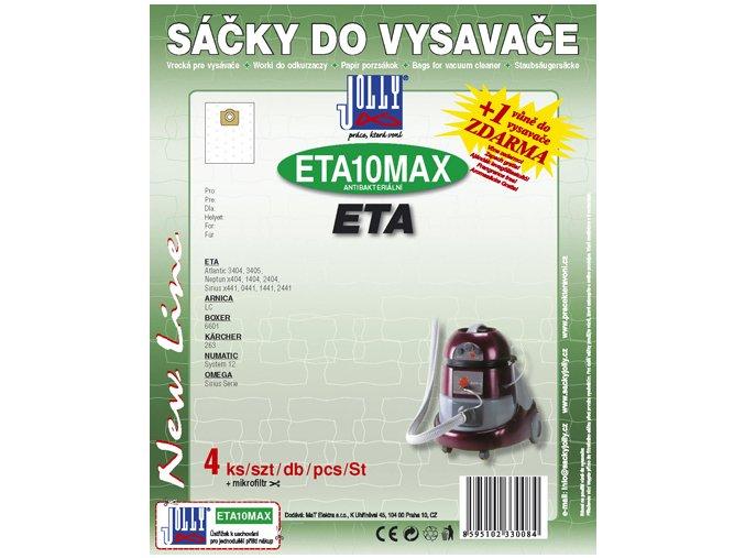 Filtr Jolly MAX ETA 10 (4+1ks) do vysav. ETA