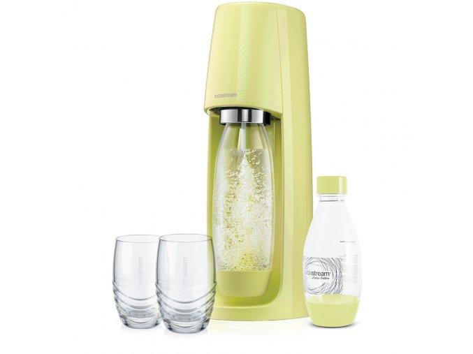 SodaStream Spirit + 2 ks originálních skleniček SodaStream 330 ml