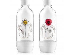 Lahev SodaStream JET 2 x 1l Květiny v zimě
