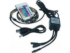 USB LED pásek RETLUX RLS 102, 30LED, RGB