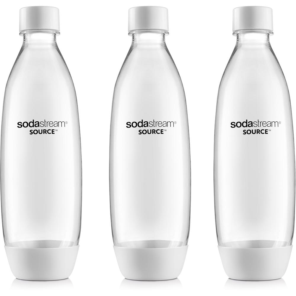 SodaStream láhev TriPack SOURCE/PLAY 1l bílá