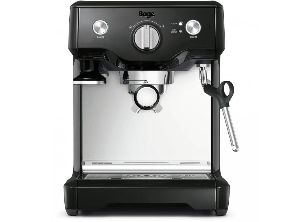 Sage BES810BKS espresso černé  + 1kg kvalitní kávy KIMBO