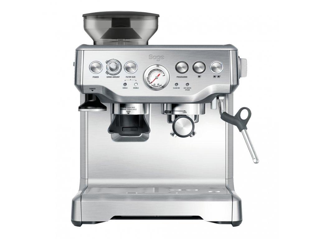 Sage BES870BSS espresso stříbrné