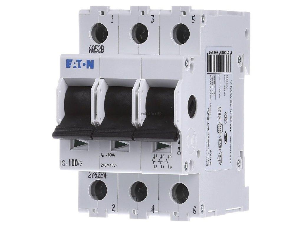 Hlavný vypínač EATON IS-100/3