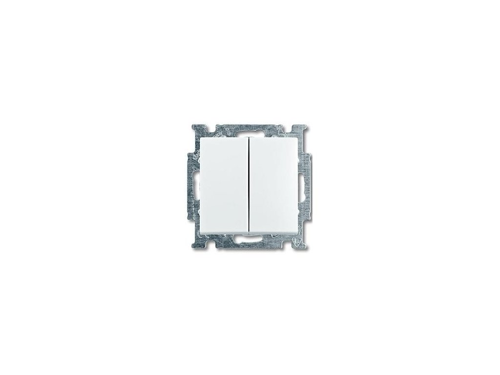 BASIC vypínač č.5 biely