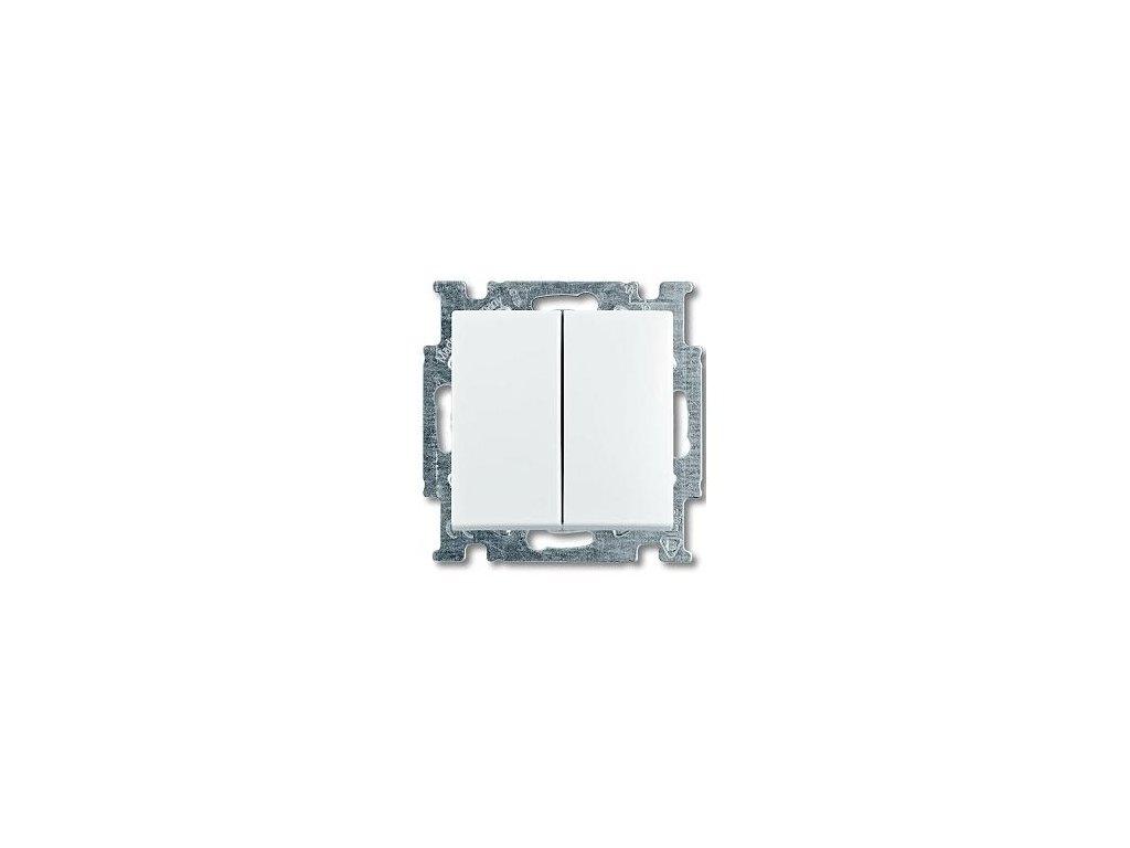 BASIC vypínač č.5B biely