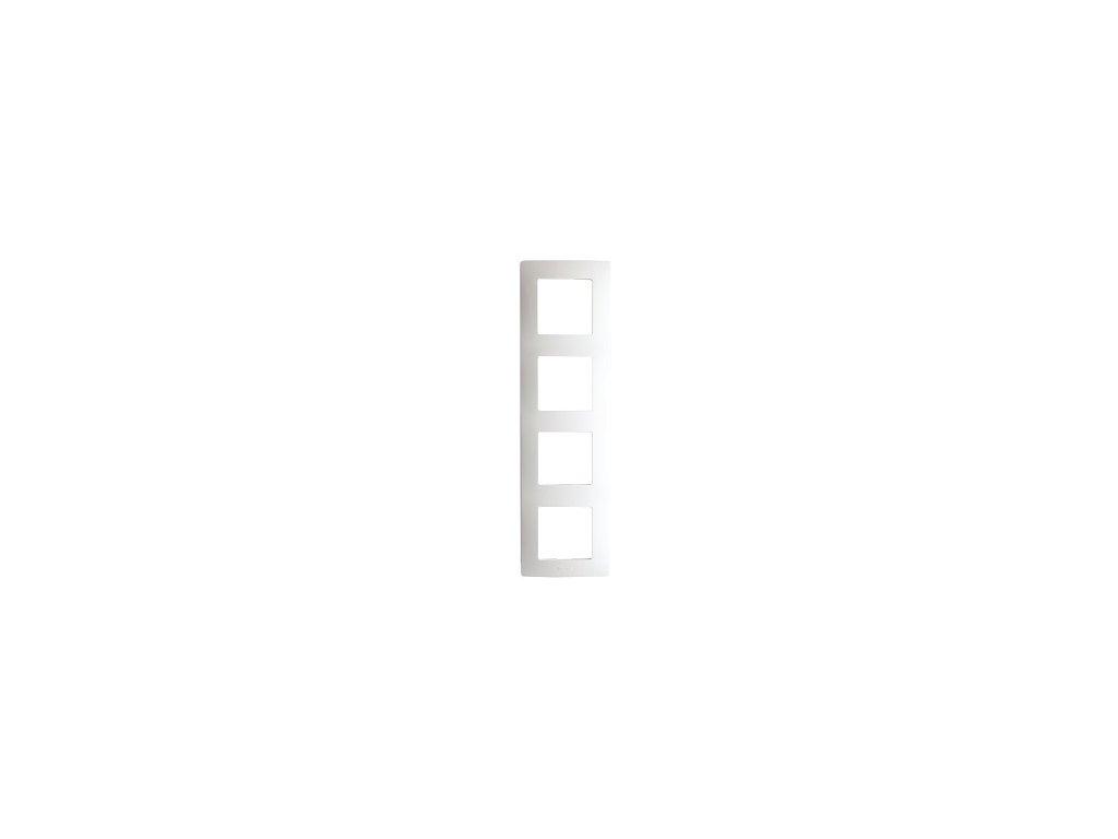 Legrand Niloe 4 rámik biely