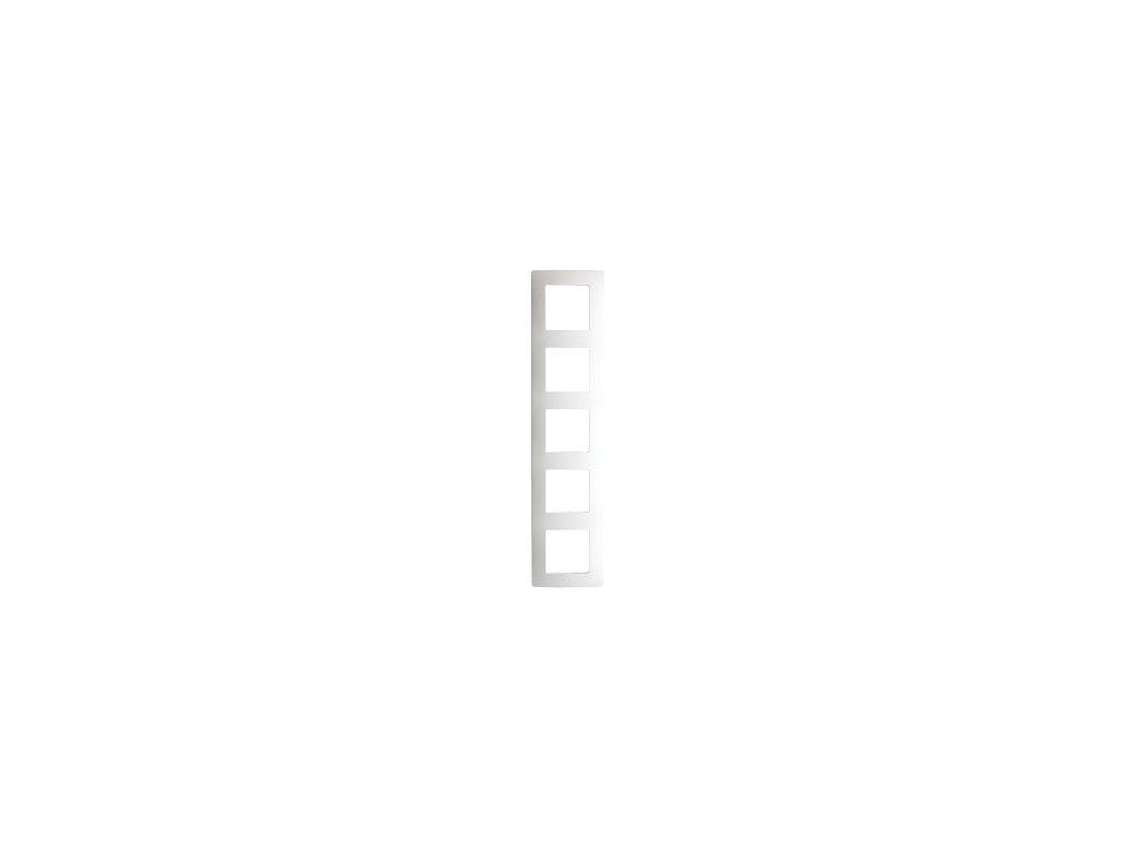 Legrand Niloe 5 rámik biely