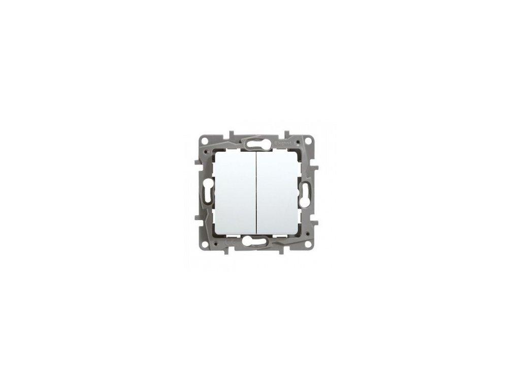 Legrand Niloe Vypínač č.5B biely