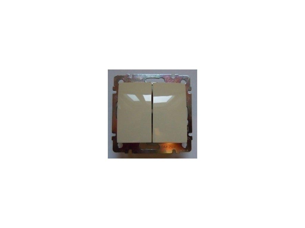 Legrand Valena Vypínač č.5B IP44 béžový