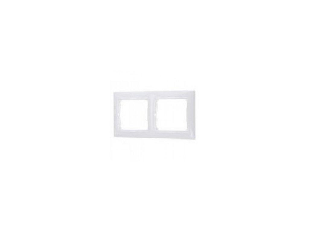 Legrand Valena 2 rámik biely