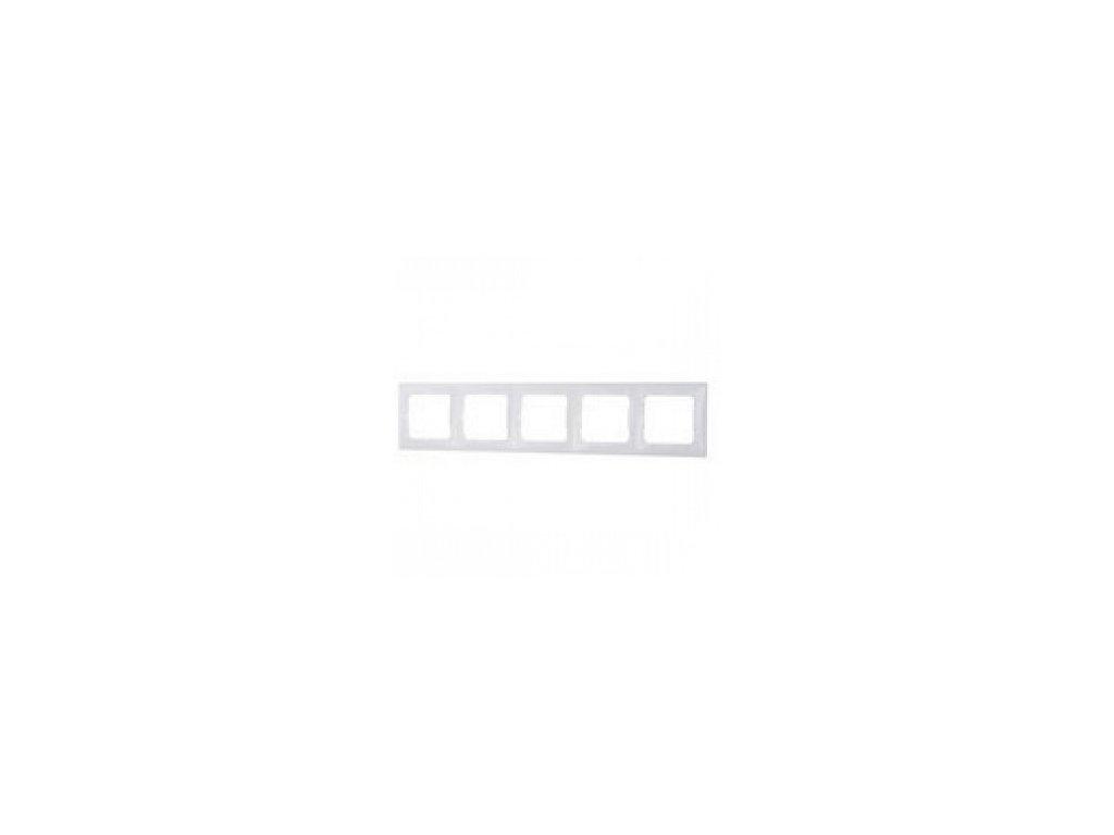 Legrand Valena 5 rámik biely
