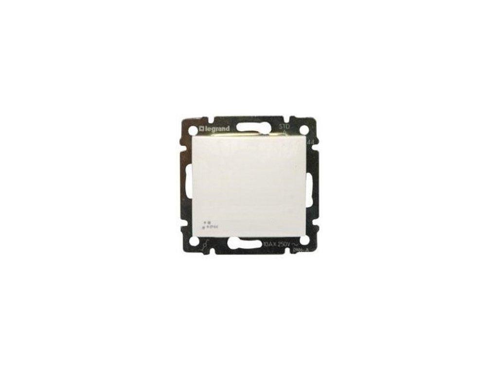 Legrand Valena Vypínač č.6 IP44 biely
