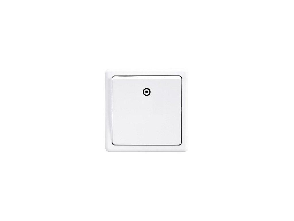 SEZ Štandard Tlačítko biele