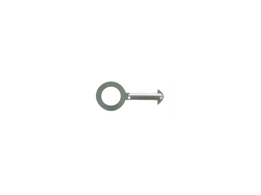 Kľúč k bezpečnostnej zátke